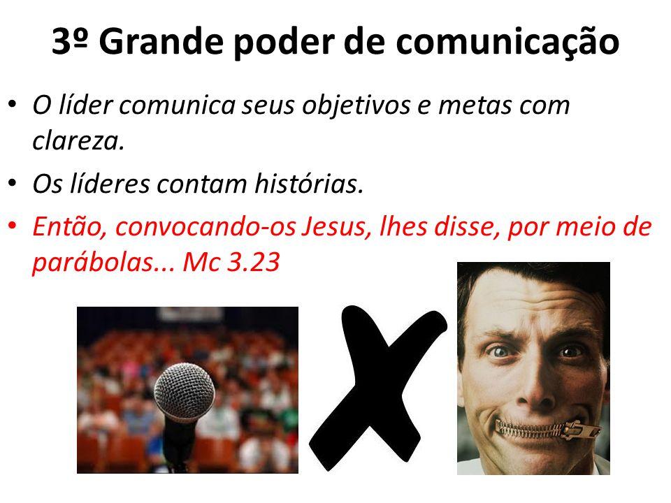 3º Grande poder de comunicação