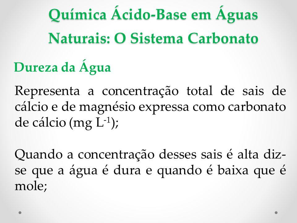 Química Ácido-Base em Águas Naturais: O Sistema Carbonato