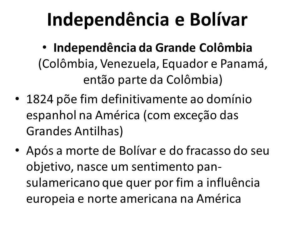 Independência e Bolívar