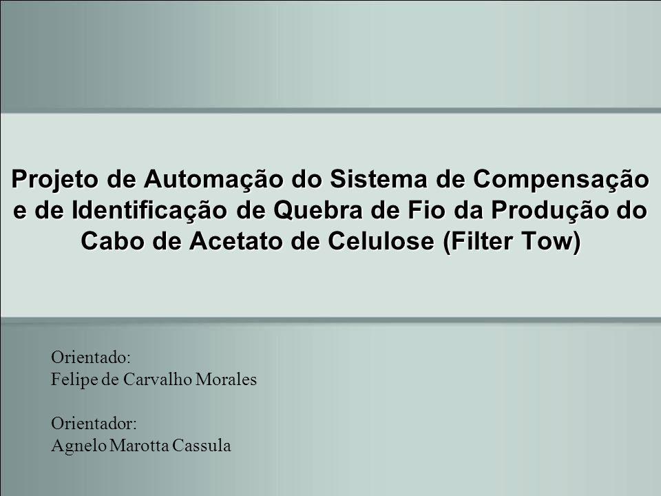 Projeto de Automação do Sistema de Compensação e de Identificação de Quebra de Fio da Produção do Cabo de Acetato de Celulose (Filter Tow)
