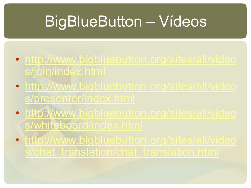 BigBlueButton – Vídeos