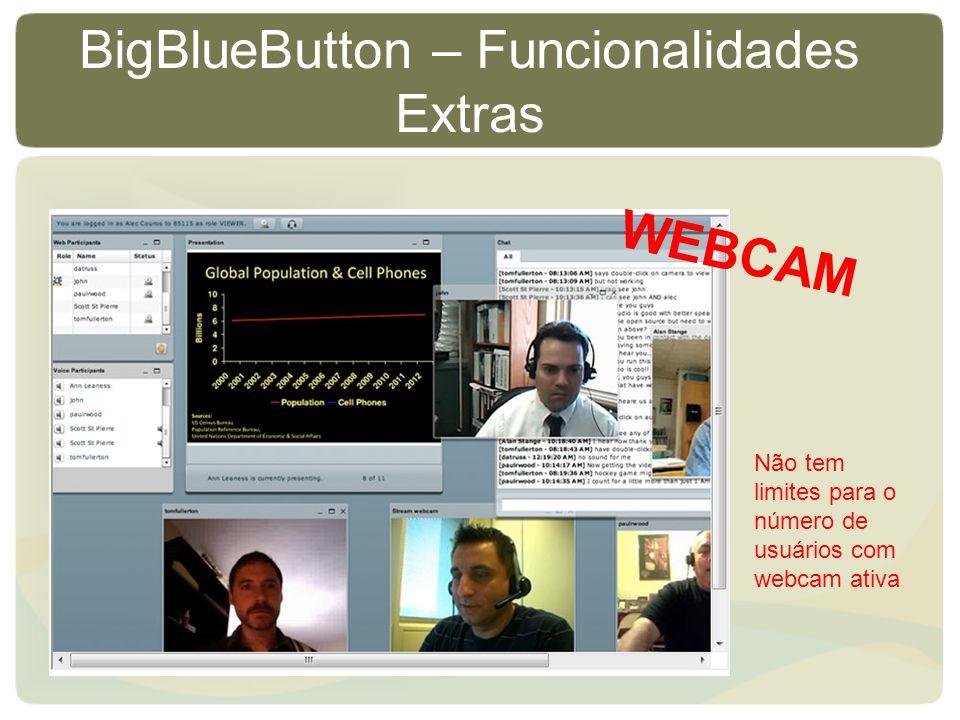 BigBlueButton – Funcionalidades Extras