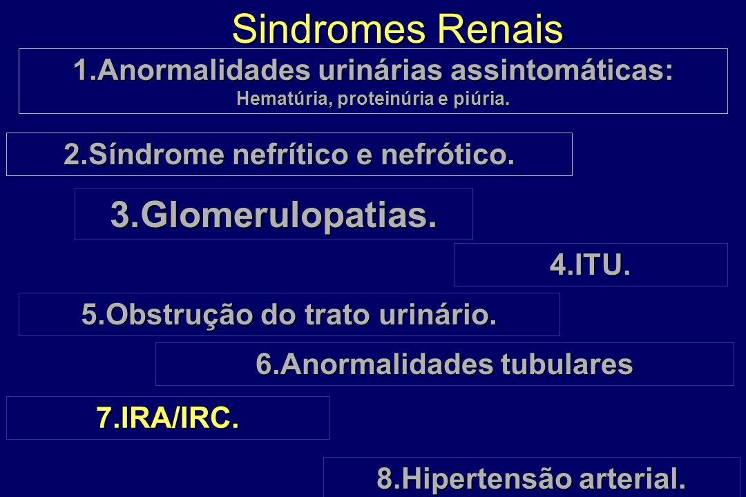 Sindromes Renais 3.Glomerulopatias.