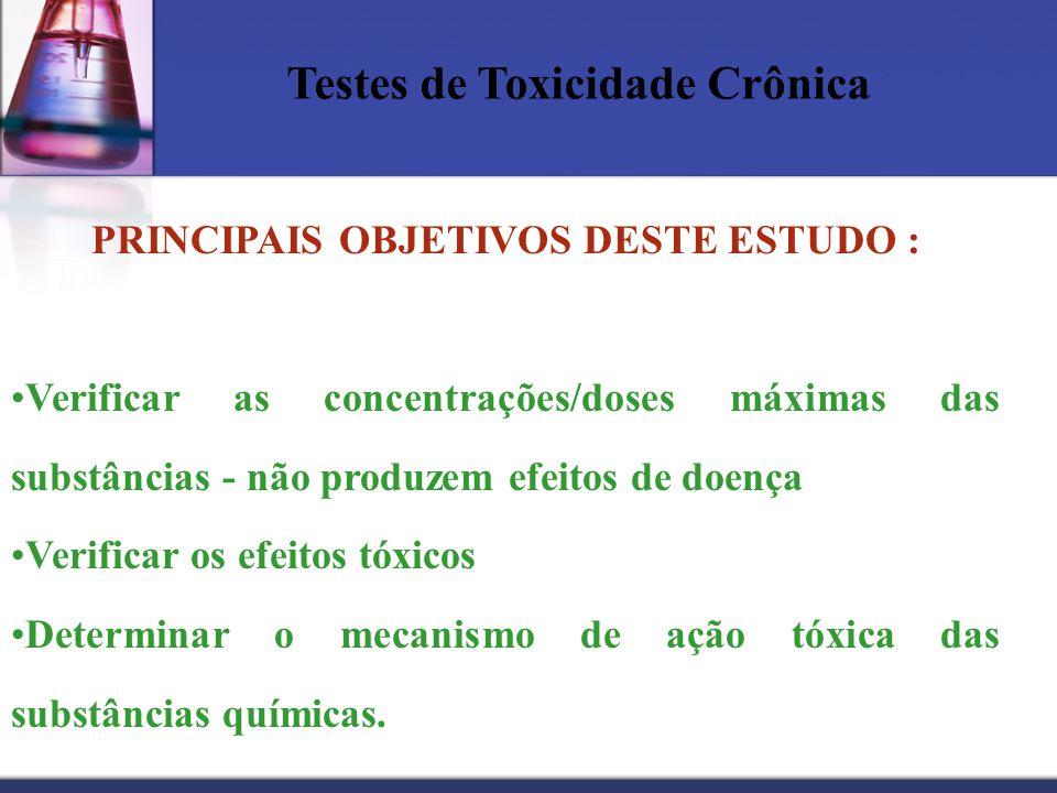 PRINCIPAIS OBJETIVOS DESTE ESTUDO :