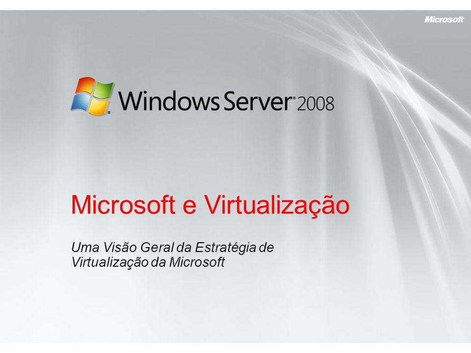 Microsoft e Virtualização