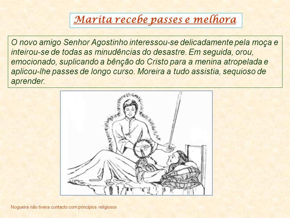 Marita recebe passes e melhora