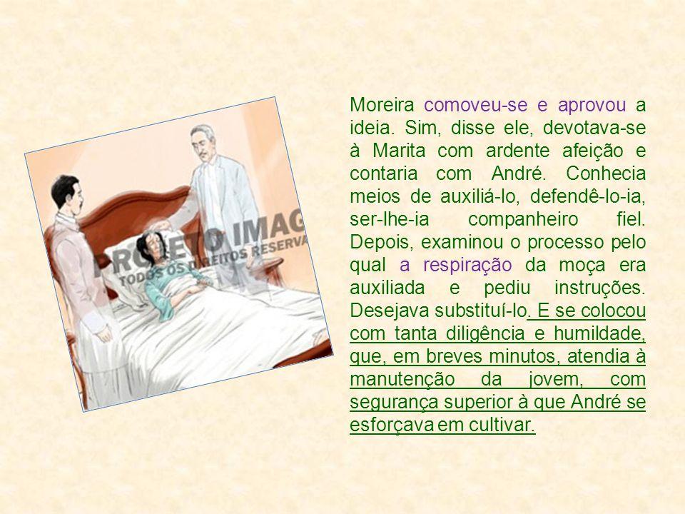 Moreira comoveu-se e aprovou a ideia