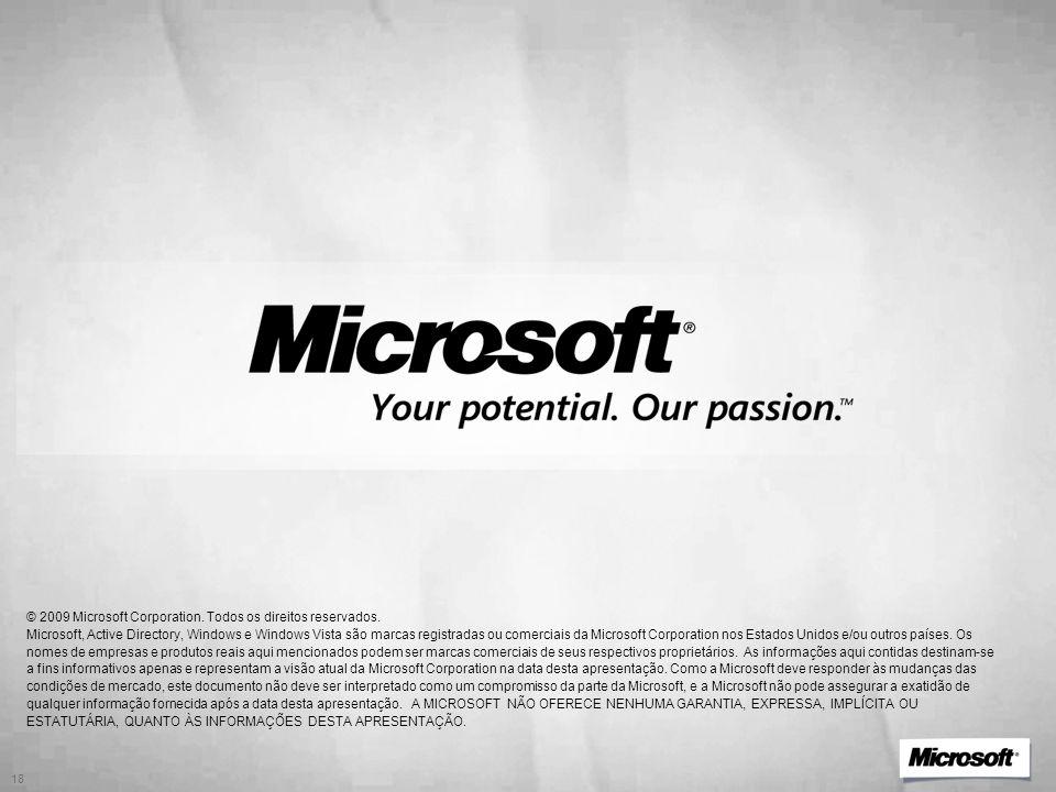 3/31/2017 1:04 PM © 2009 Microsoft Corporation. Todos os direitos reservados.
