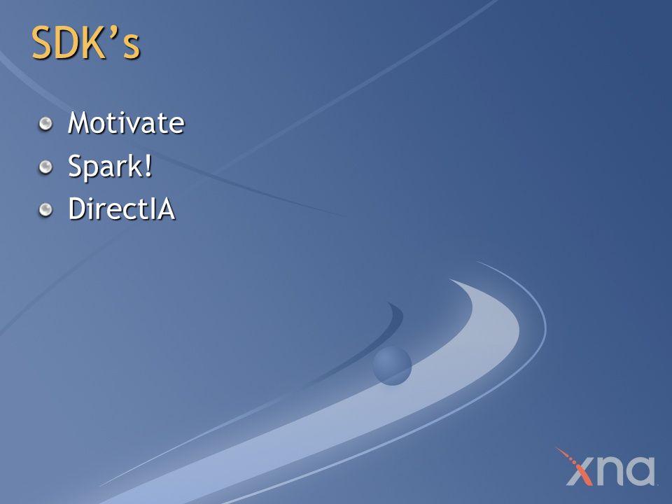 SDK's Motivate Spark! DirectIA