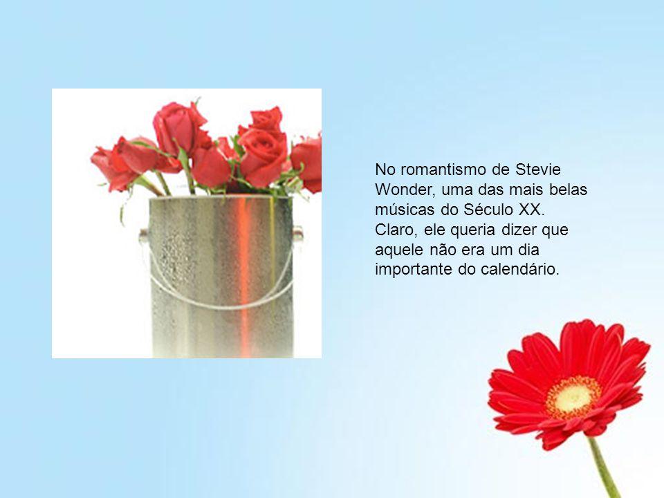 No romantismo de Stevie Wonder, uma das mais belas músicas do Século XX.