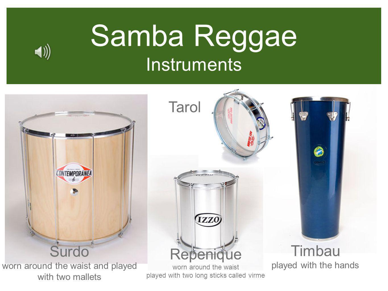 Samba Reggae Instruments