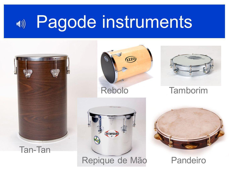 Pagode instruments Rebolo Tamborim Tan-Tan Repique de Mão Pandeiro