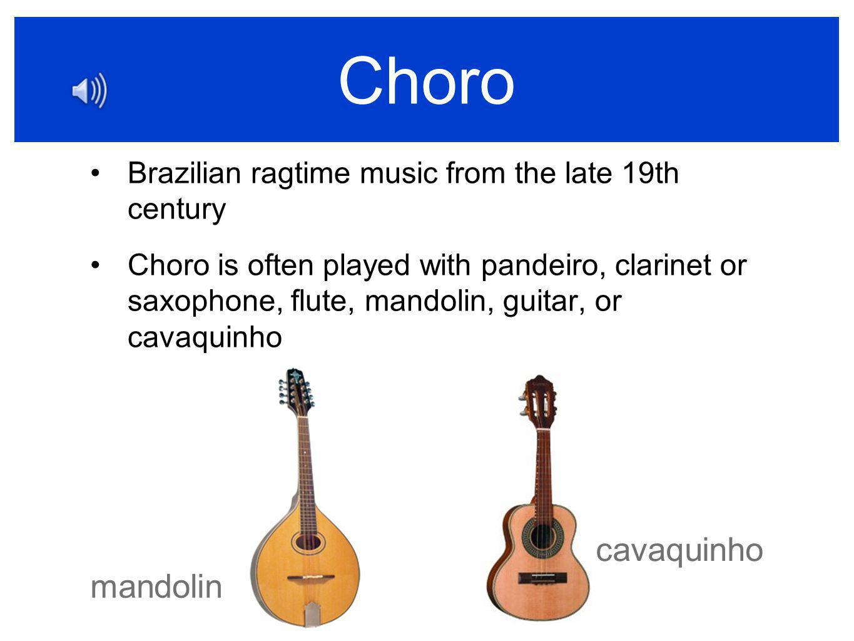 Choro cavaquinho mandolin