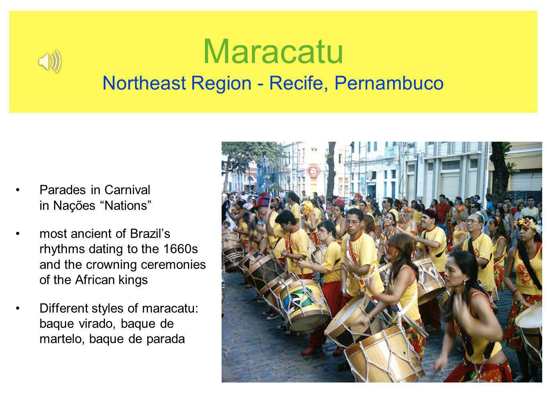 Maracatu Northeast Region - Recife, Pernambuco