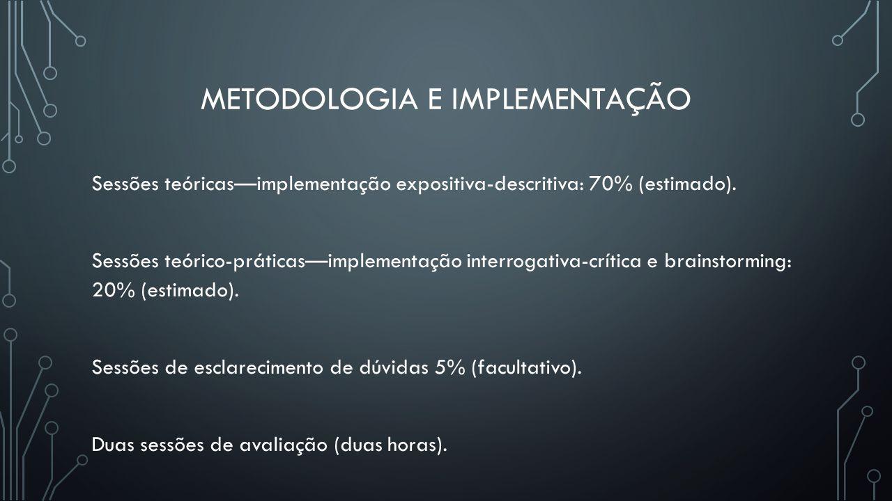 Metodologia e implementação