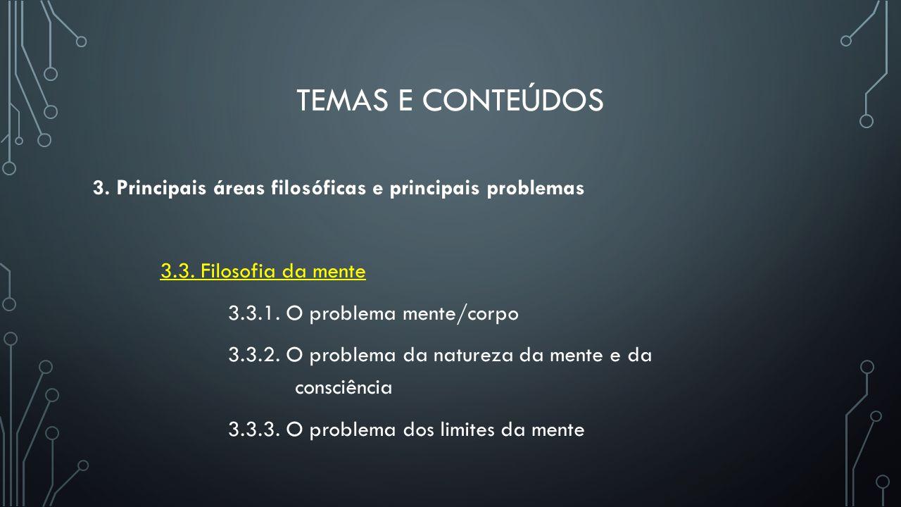 Temas e conteúdos