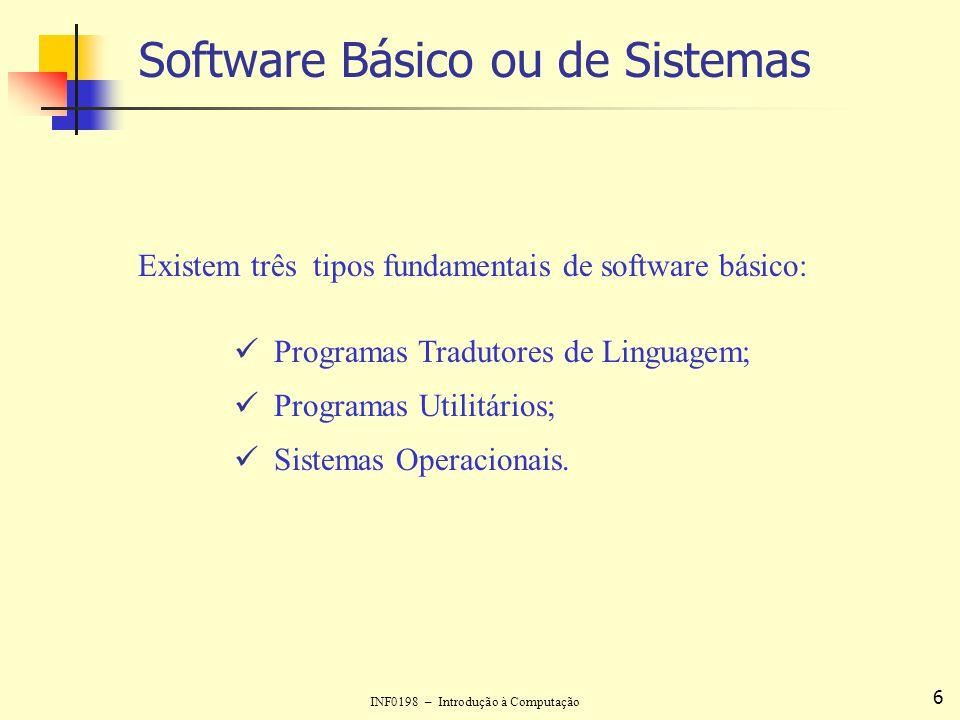 Software Básico ou de Sistemas