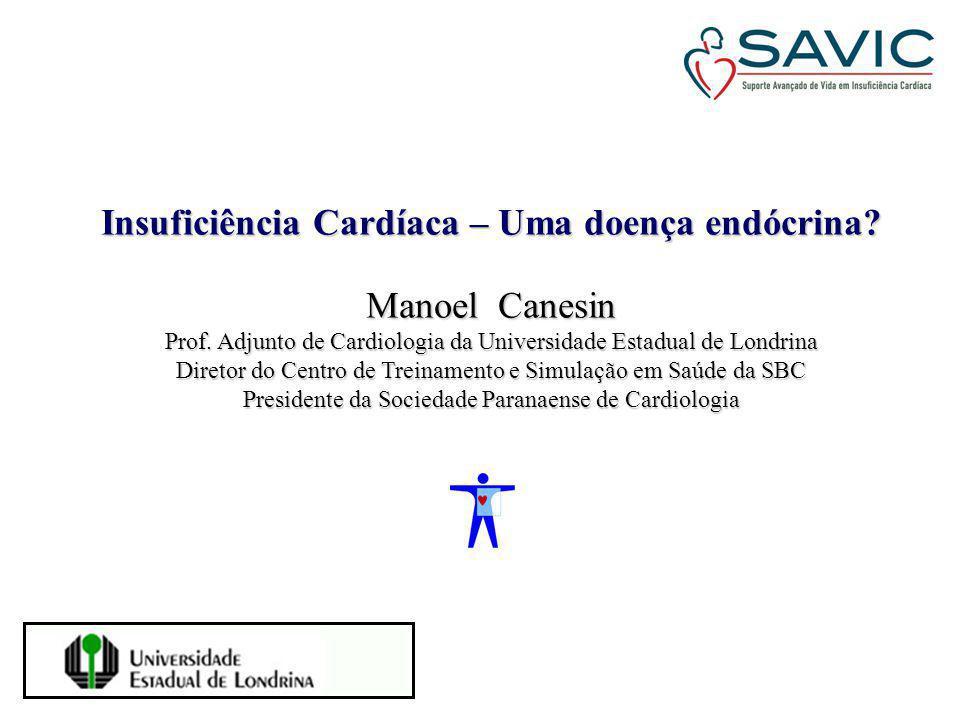 Insuficiência Cardíaca – Uma doença endócrina Manoel Canesin
