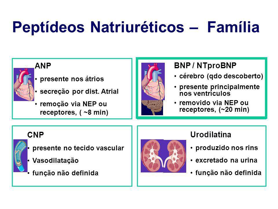 Peptídeos Natriuréticos – Família