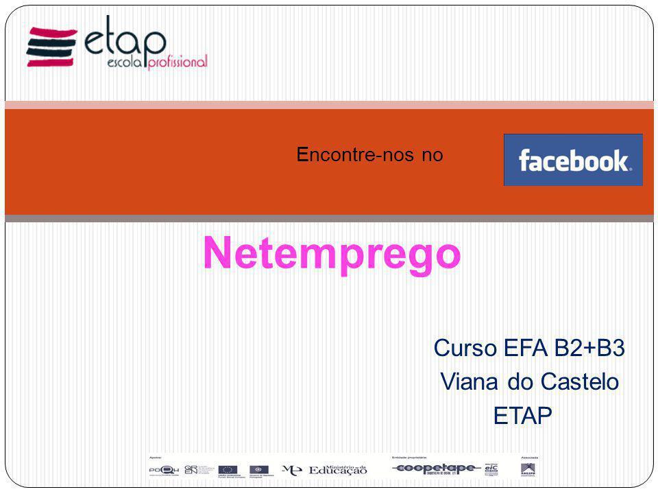Curso EFA B2+B3 Viana do Castelo ETAP