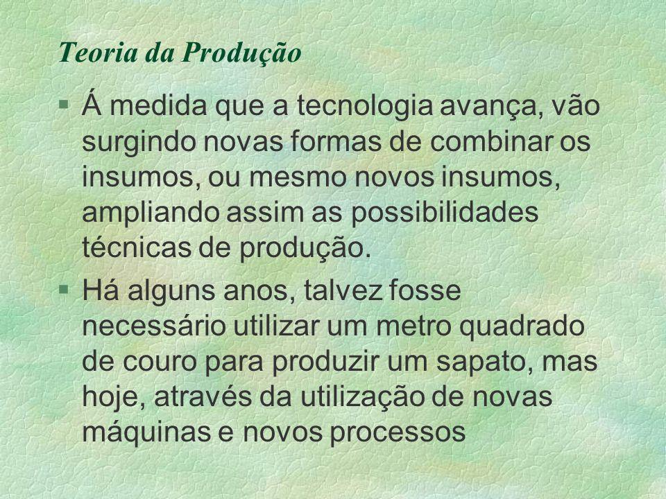 Teoria da Produção