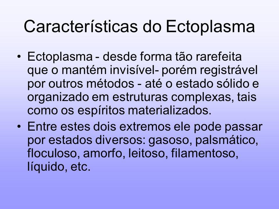 Características do Ectoplasma