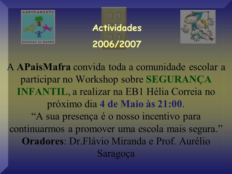 Actividades 2006/2007.