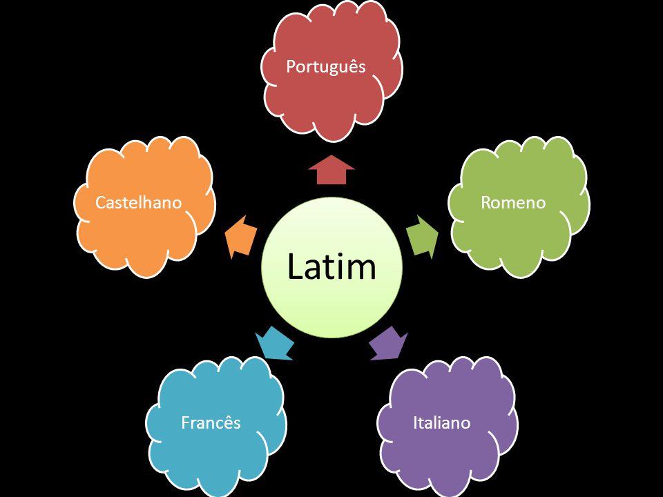 Latim Português Romeno Italiano Francês Castelhano