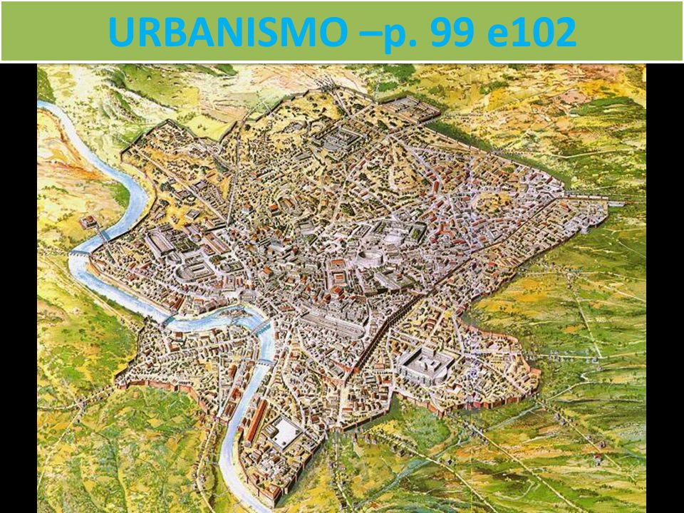 URBANISMO –p. 99 e102