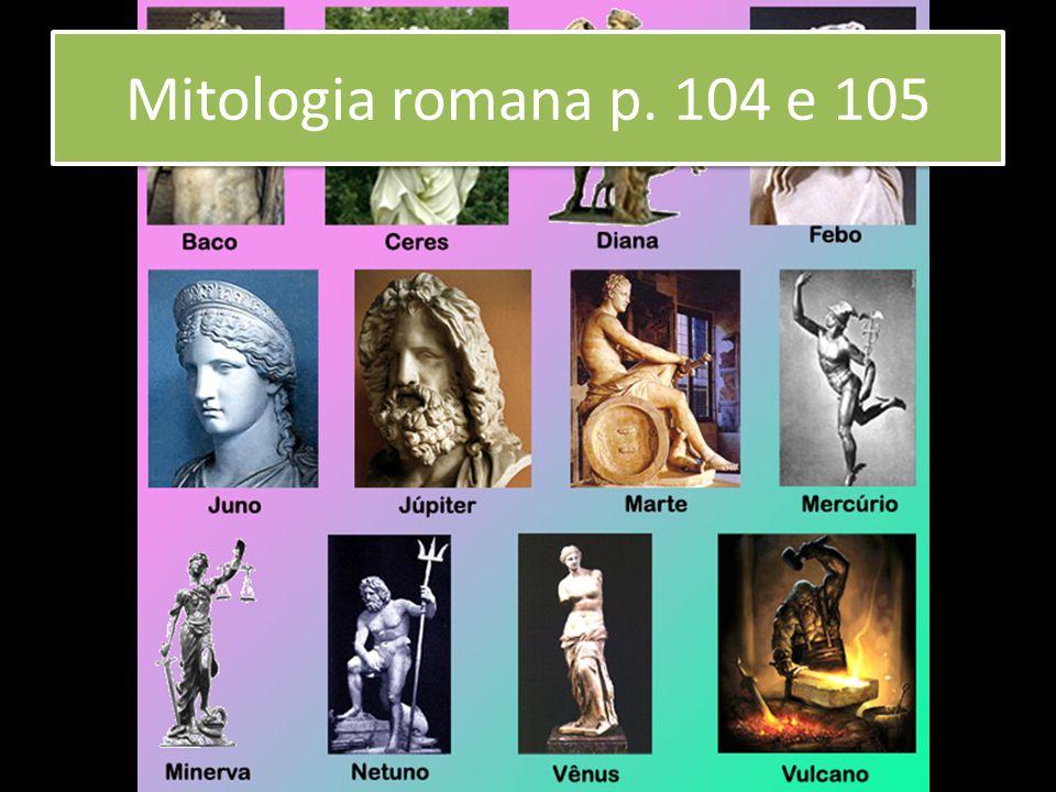Mitologia romana p. 104 e 105
