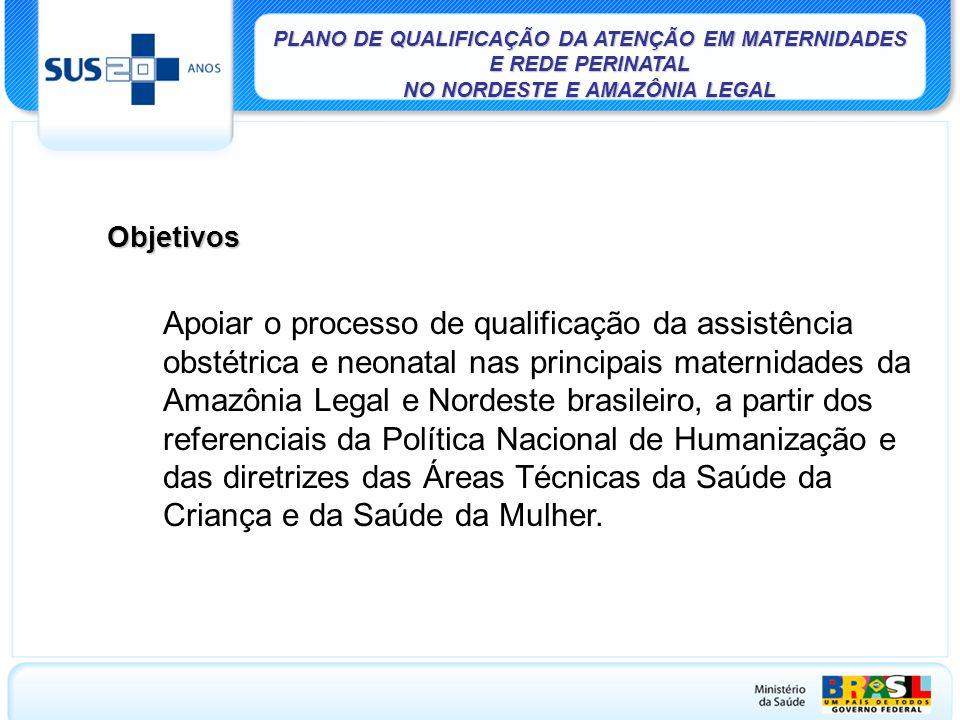 PLANO DE QUALIFICAÇÃO DA ATENÇÃO EM MATERNIDADES E REDE PERINATAL