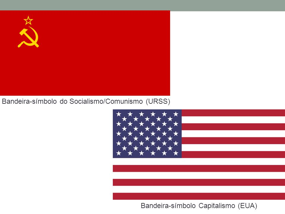 Bandeira-símbolo do Socialismo/Comunismo (URSS)