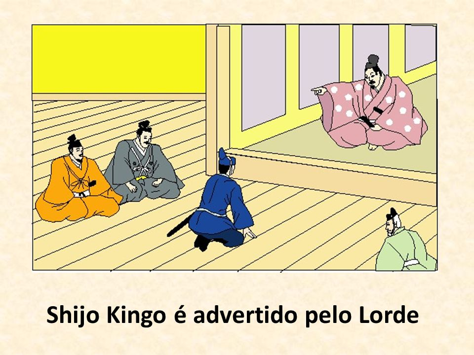 Shijo Kingo é advertido pelo Lorde