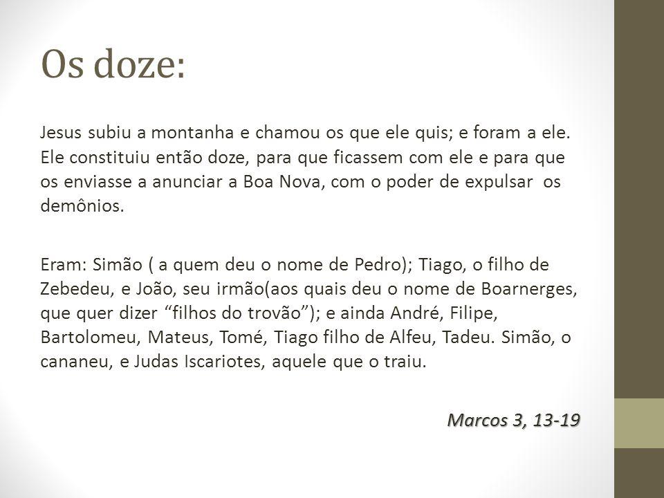 Os doze:
