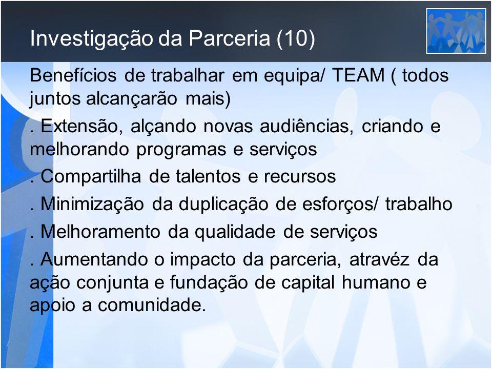 Investigação da Parceria (10)