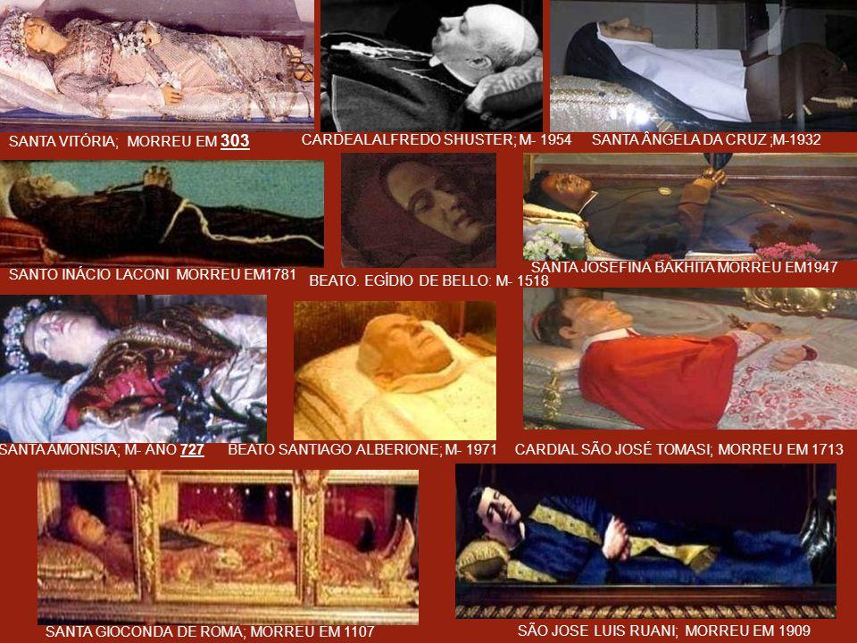 SANTA VITÓRIA; MORREU EM 303