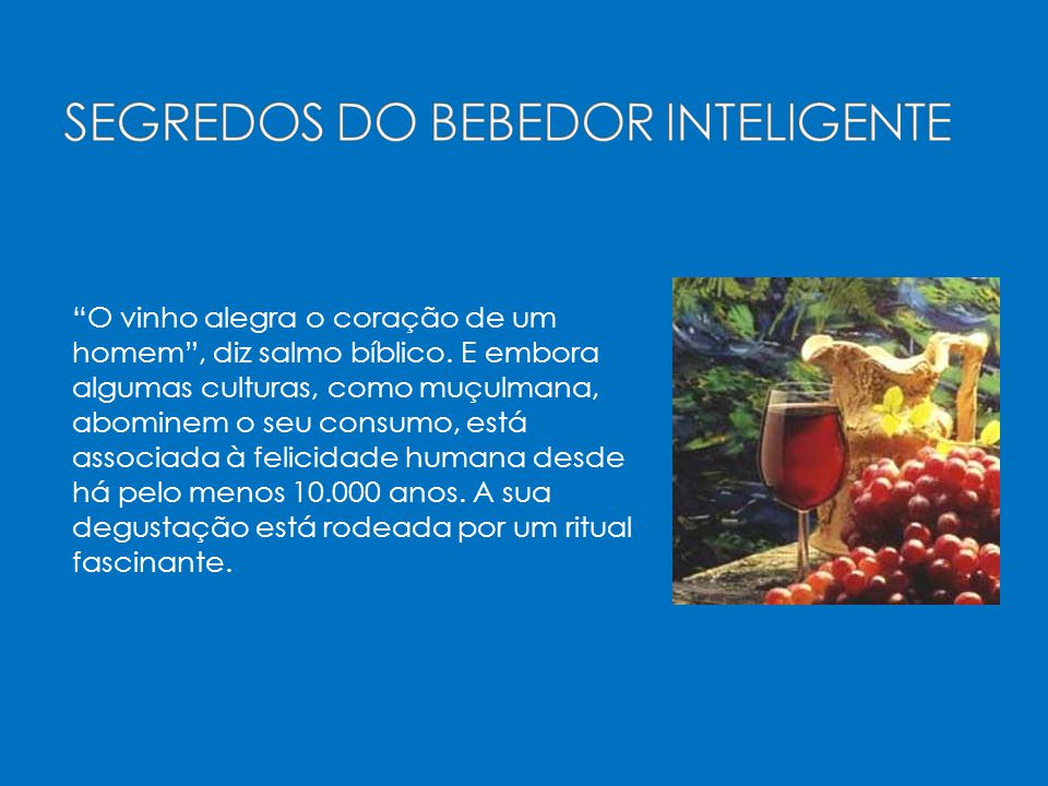 SEGREDOS DO BEBEDOR INTELIGENTE