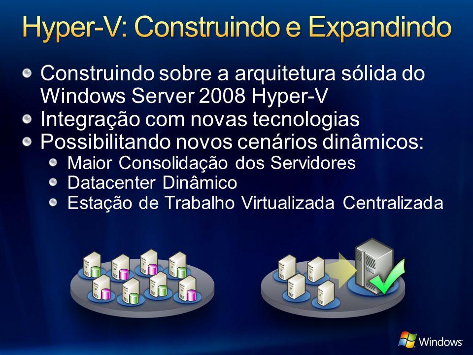 Hyper-V: Construindo e Expandindo