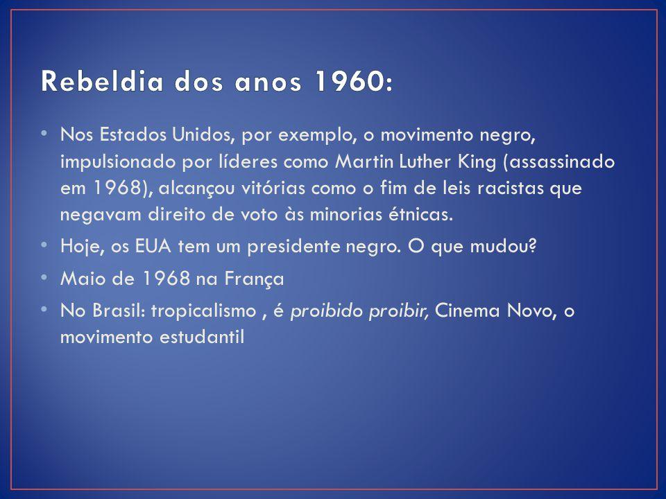 Rebeldia dos anos 1960: