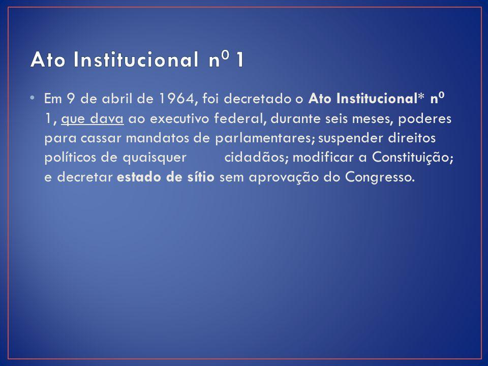Ato Institucional n0 1