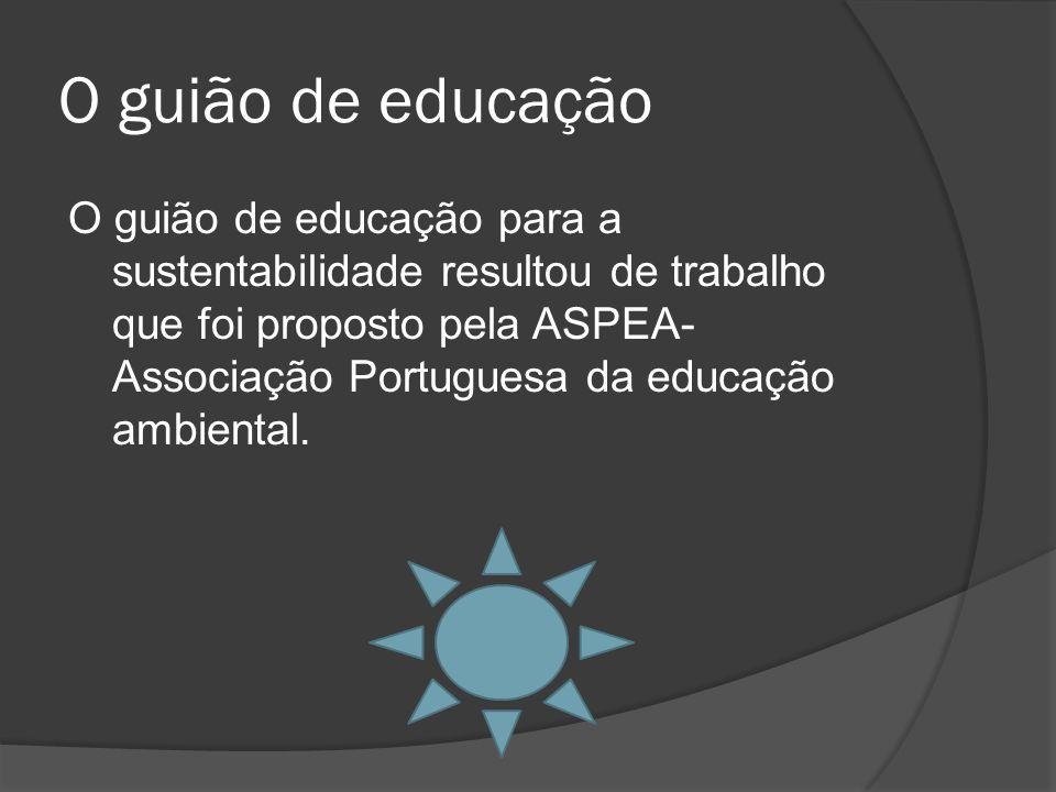 O guião de educação