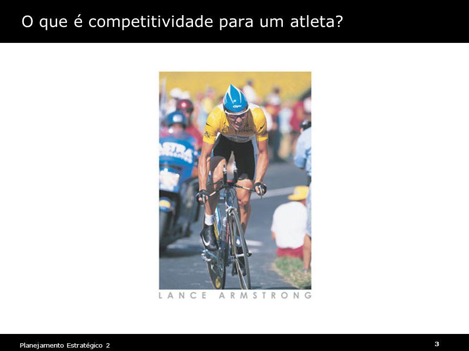 O que é competitividade para um atleta