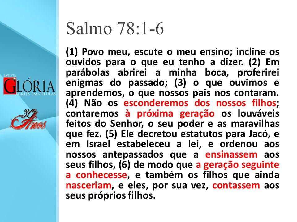 Salmo 78:1-6