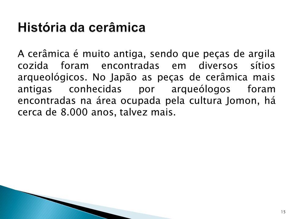 História da cerâmica