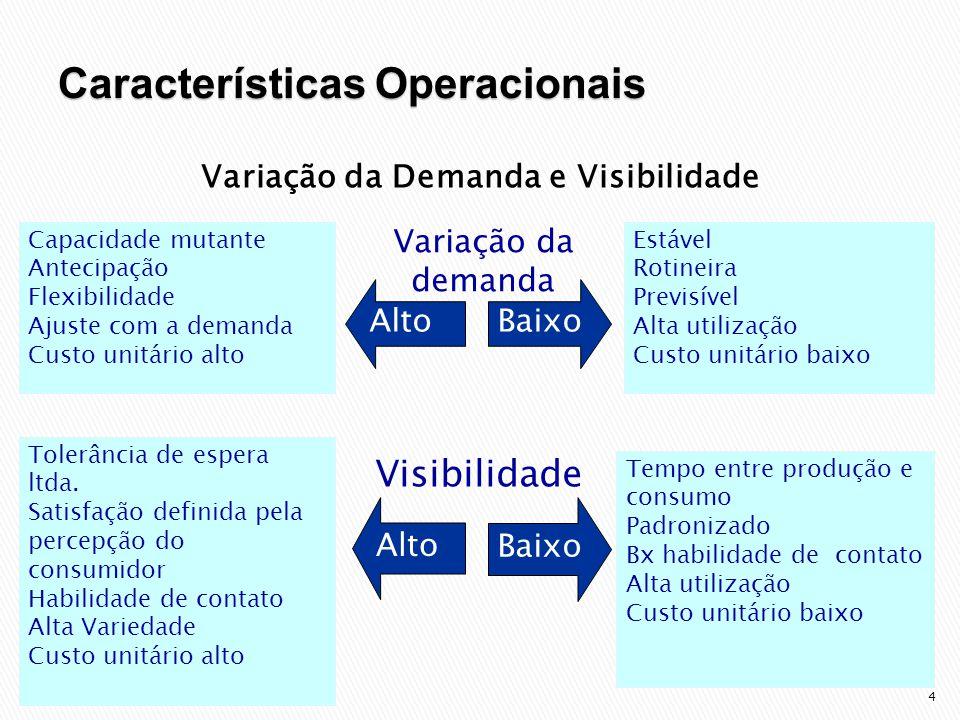 Variação da Demanda e Visibilidade