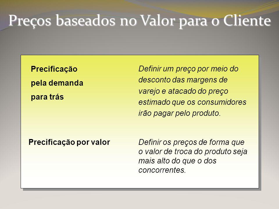 Preços baseados no Valor para o Cliente