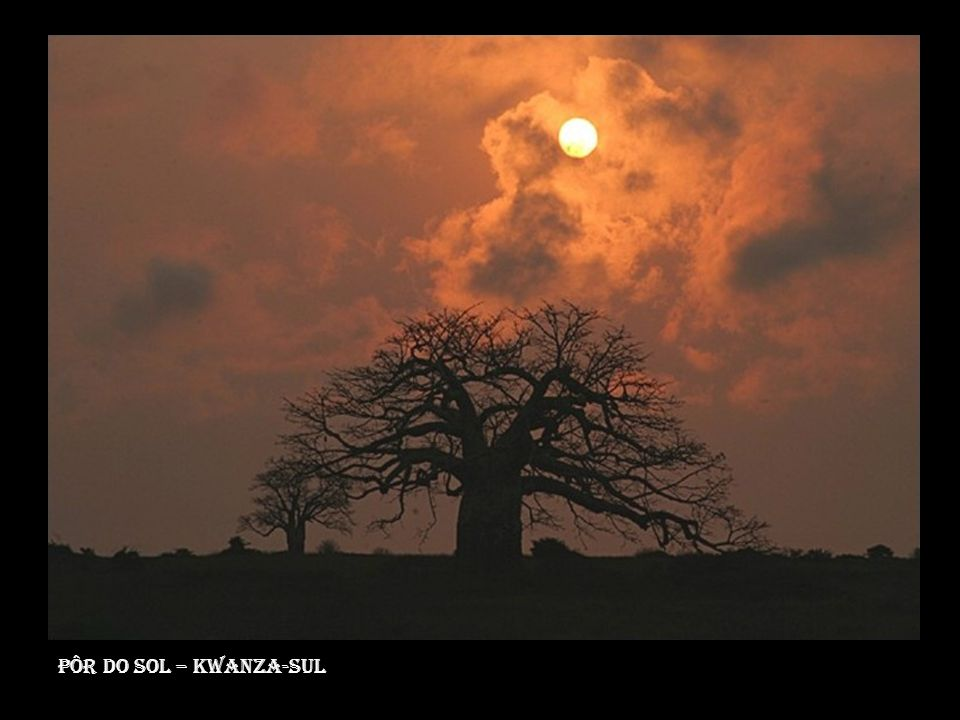 Pôr do sol – Kwanza-Sul