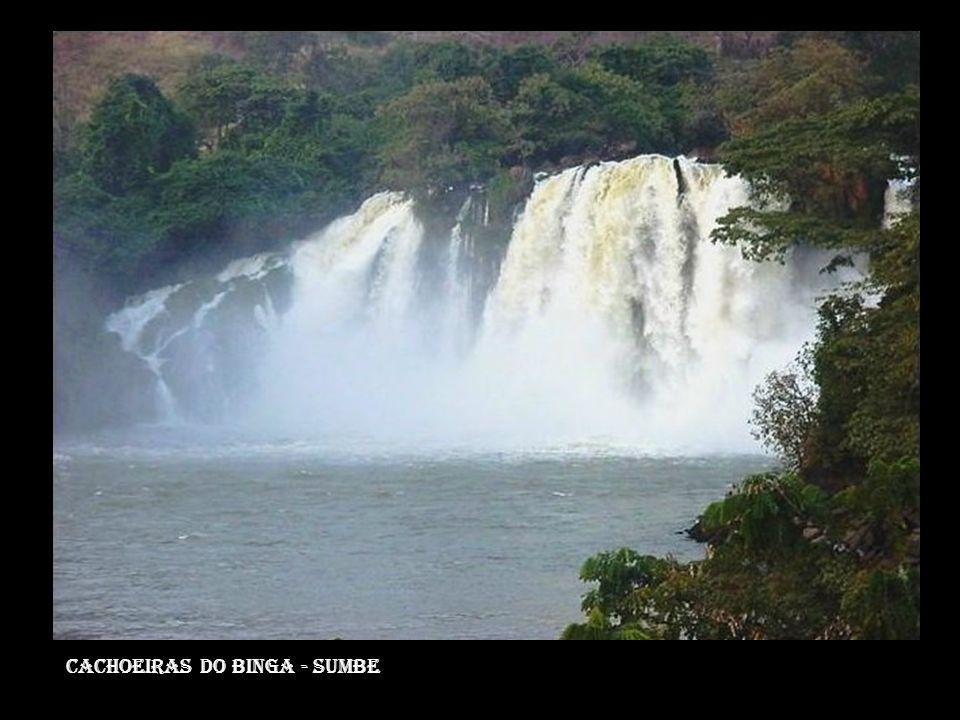 Cachoeiras do binga - sumbe