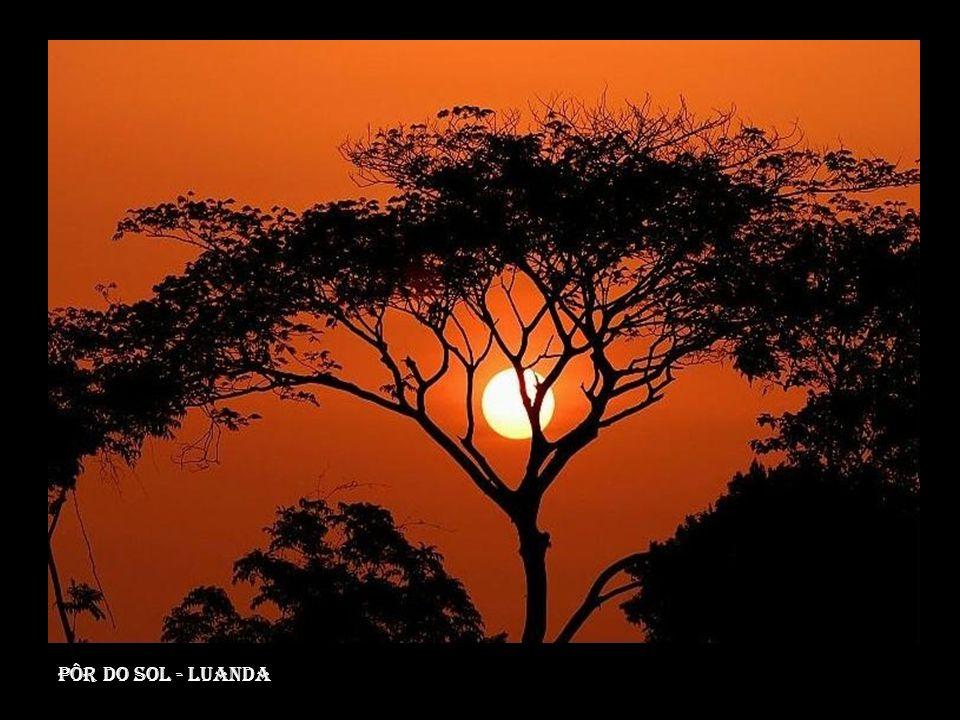 Pôr do sol - luanda