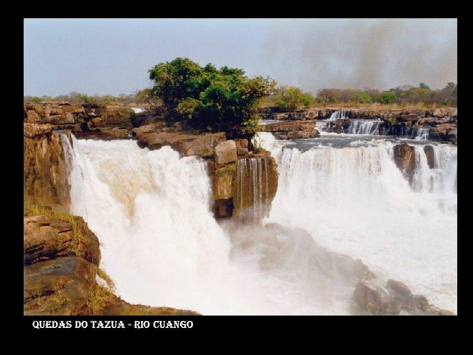 Quedas do tazua - rio cuango